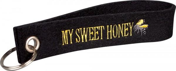 Filzschlüsselanhänger My Sweet Honey
