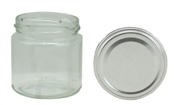 TO Rundglas 108 ml silber