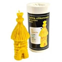 Kerzenform Bienenkorb rustikal
