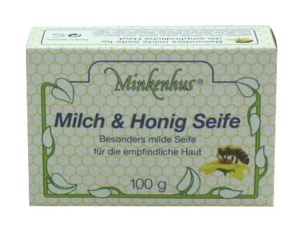 Minkenhus® Seife Milch und Honig