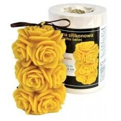 Kerzenform Rosenstumpen
