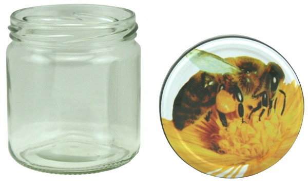 TO Rundglas 400 ml Bienenmotiv