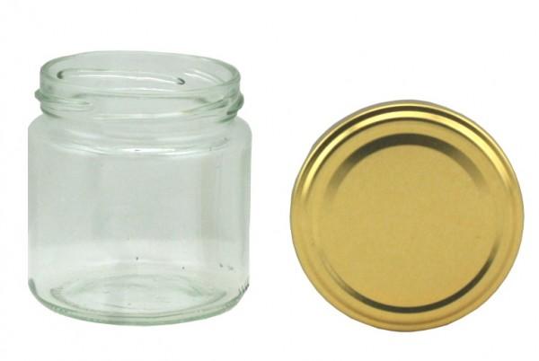TO Rundglas 108 ml gold