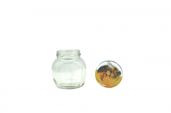 TO Ovalglas 212 ml Bienenmotiv