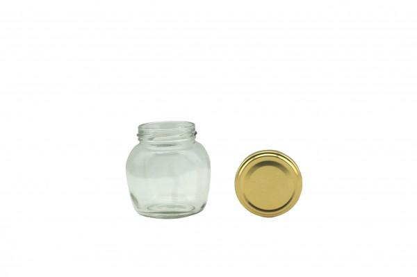 TO Ovalglas 212 ml gold
